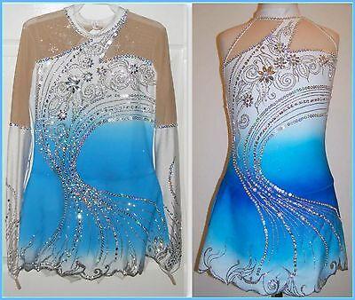 RG/RSG Rhythmic Acro Leotard Ice Skating Dress Baton Twirling Tap/Dance Costume