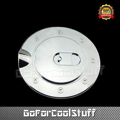 FUEL Gas Door aluminium Chrome FOR FORD F 150 F 250 F 350 EXPEDITION EXCURSION