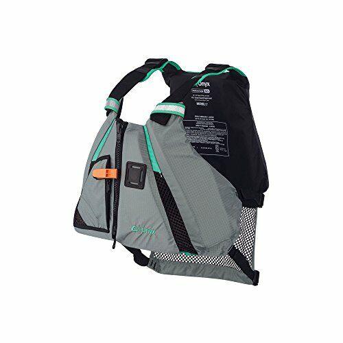 Onyx Movevent Dynamic Paddle Sports Life Vest Aqua Medium//Large