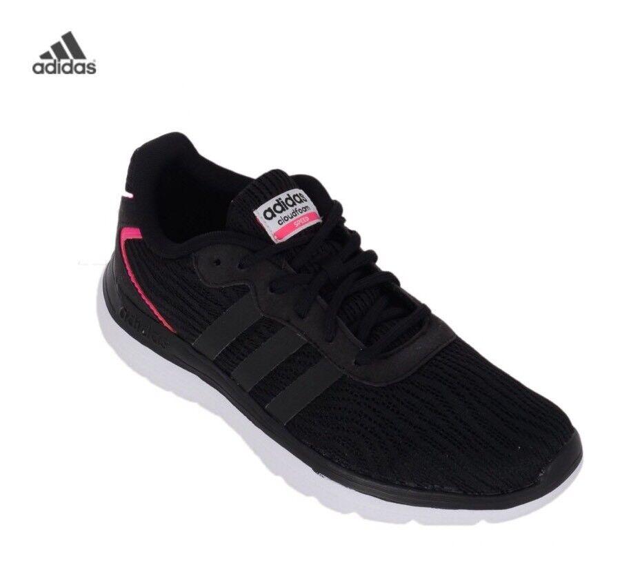 Velocidad de espuma en la nube Adidas mujertrainers Negro Nuevo En Caja Libre De F99562 ofrecen