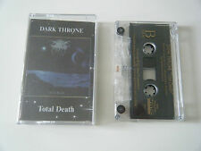 DARK THRONE TOTAL DEATH CASSETTE TAPE MYSTIC PRODUCTION 030 POLAND 1996