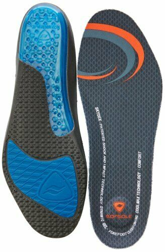 Sofsole Airr Sport Insole Men/'s sports Insoles Free UK Postage