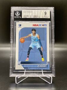 2019-20-PANINI-NBA-HOOPS-ROOKIE-JA-MORANT-259-BGS-9-MINT-ROY