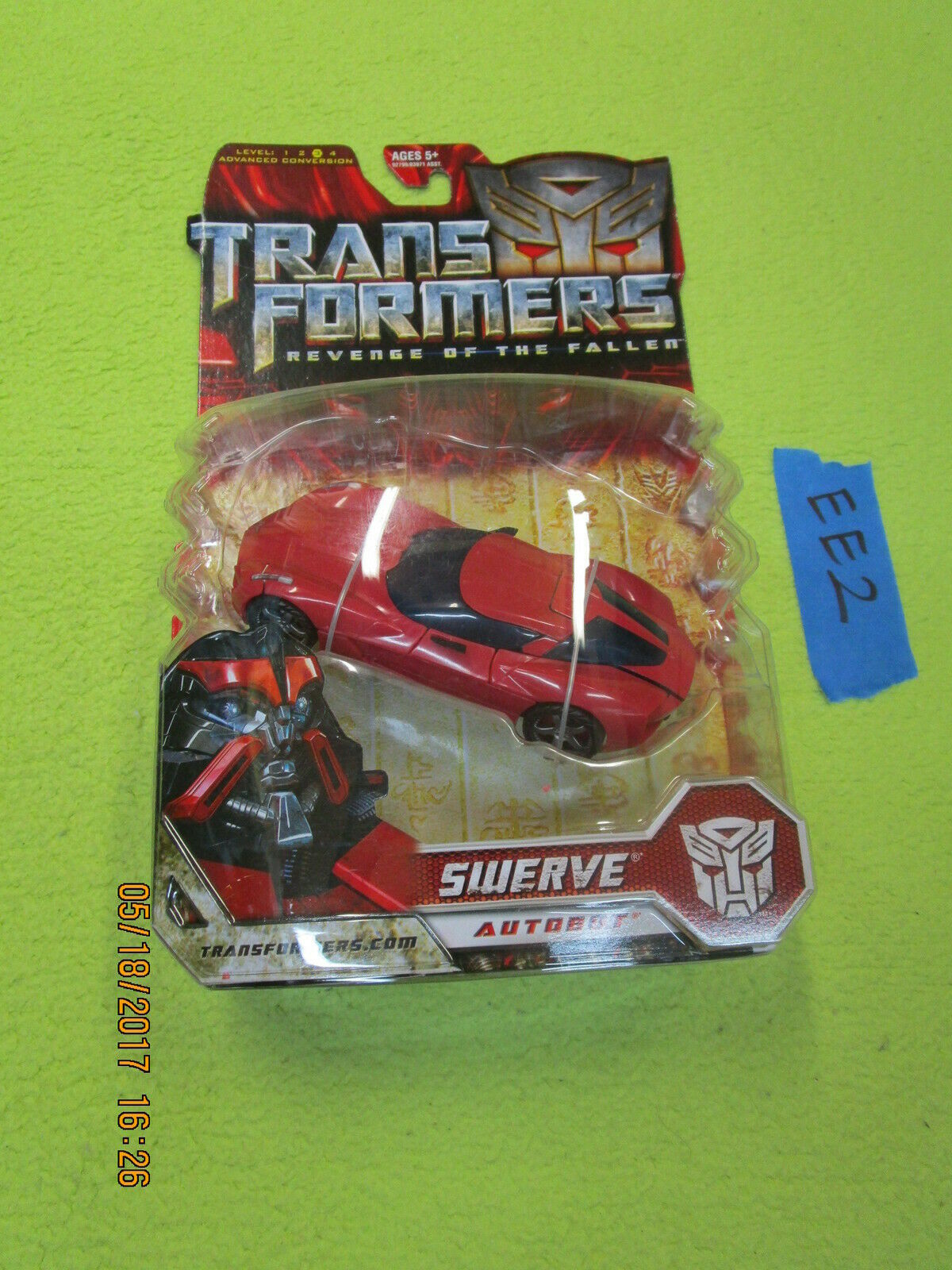EE2_7 EE2_7 EE2_7 Transformers 2 Movie Lot redF SWERVE Revenge of the Fallen Deluxe MOSC 6085d3