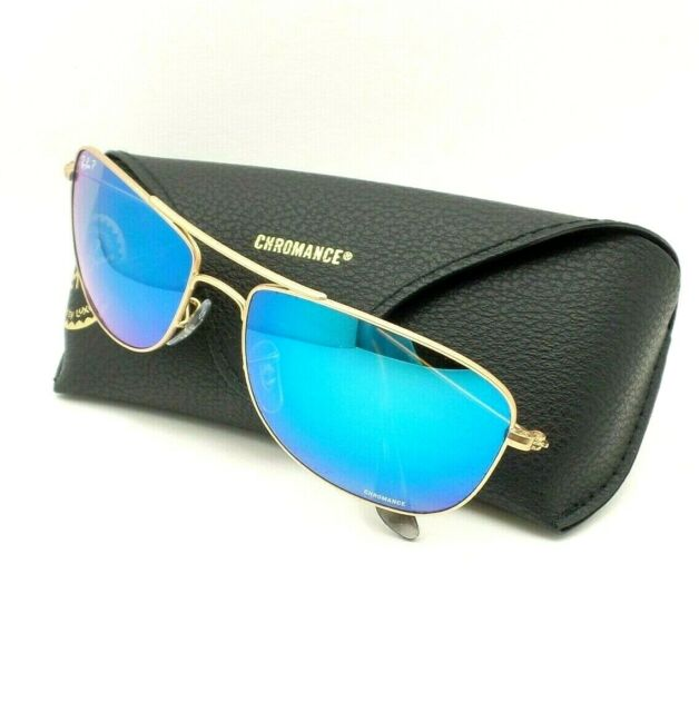 3c0300bc6dd Ray-Ban Rb3543 112 a1 Matte Gold Frame Blue Mirror Polarized Lens  Sunglasses 59