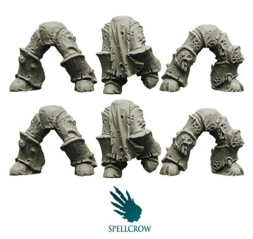 SPELLCROW Plague Knights Legs v. 2 BITS BITZ NURGLE CHAOS 28mm COMPATIBLE PDT