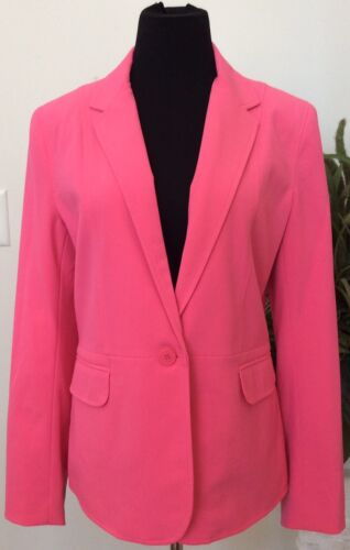Polyester Ret York Blazer maat Blend Wmns 99 jas Company 12 289 Nwt Pink wSpvxIqdCq