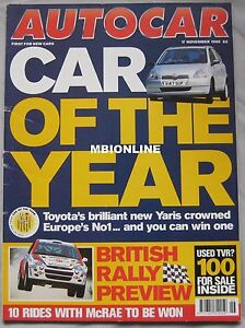 AUTOCAR-magazine-17-11-1999-featuring-Porsche-GT3-Toyota-Colin-McRae