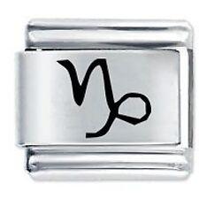 CAPRICORN ZODIAC - Daisy Charms by JSC Fits Classic Size Italian Charm Bracelet