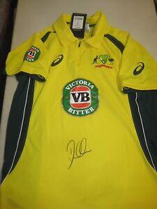 David-Warner-Australian-Vice-Captain-signed-2015-16-ODI-Cricket-Shirt