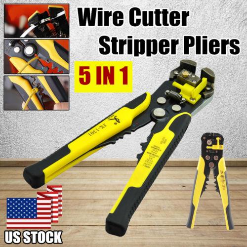 Professional Wire Stripper Cutter Automatic Stripper Crimper Plier Terminal Tool