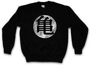 Son sudore Tv Kaio King Sweatshirt Dz Z Kai Goku Pullover Kanji Dragonball TxqPzwZTar