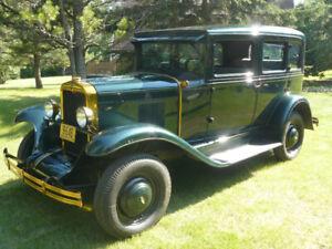 1929 chev sedan