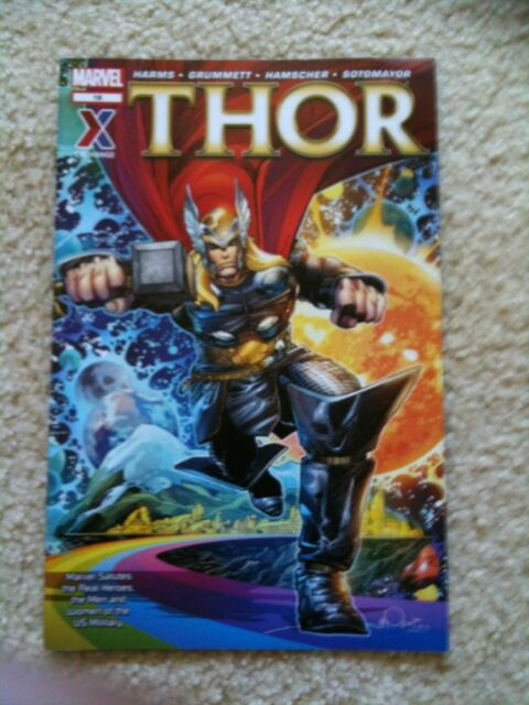 5 AAFES Exchange #16 Military Only Marvel Comics THOR Avengers Legends Rare