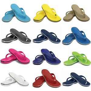 Crocs Crocband Flip Clogs Men Women Unisex Slippers Shoes Different ... 312968629bc