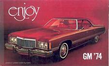 1974 GM Brochure Cadillac Buick Pontiac Olds Camaro mx622-KH75TM