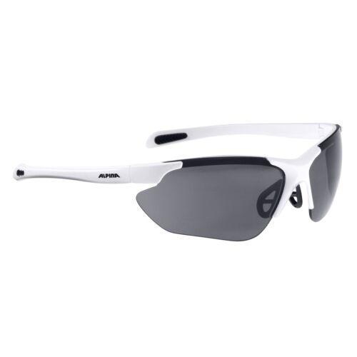 Alpina Fahrradbrille Sportbrille Sonnenbrille Brille JALIX white matt-black
