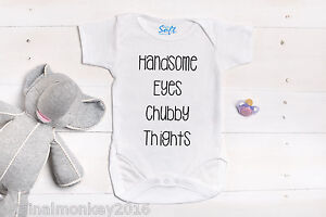 Personalised baby grow newborn baby gifts christening gift ebay image is loading personalised baby grow newborn baby gifts christening gift negle Choice Image