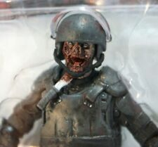 S201 The Walking Dead Series 4 Riot Gear Zombie Action Figure by McFarlane Toys