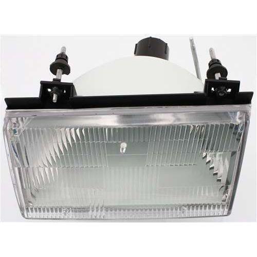 Driver Side Headlight For Topaz 92-94 Clear Lens