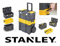 Stanley 3 in 1 Rolling Workshop Toolbox Wheeled Toolchest STST1-80151 STA180151