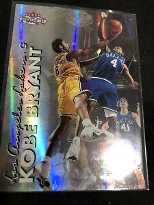 Kobe Bryant 1999-2000 Fleer Force FORCEFIELD SP Lakers Refractor Like
