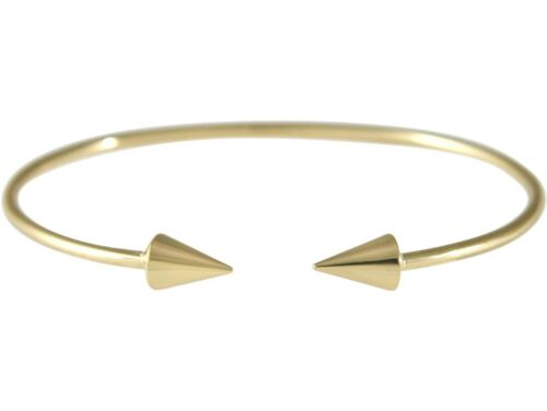 Gemshine Armband Armreif Gold Kegel Kugel Scandi Minimalistisch Design