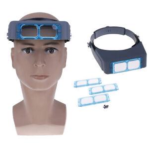 Optivisor-headband-magnifier-loupe-repair-helmet-magnifying-glass-spectacles