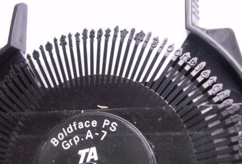 rad maschine schreiben TRIUMPH Adler Schreibmaschine daisy Marguerite