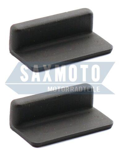 Seitendeckel Gummi Set SUZUKI SP370 SP400 TS185ER TS250ER Side Panel Rubber Set