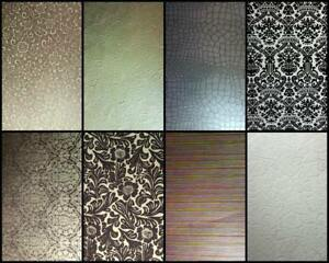 A4-Gorgeous-Textured-Designer-Papers-Embossed-Flocked-Metallic-Stripe-Floral-etc