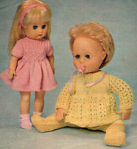 Knitting Pattern For Tiny Tears Doll : KNITTING PATTERN TO MAKE 13