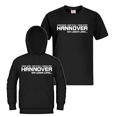 T-Shirt / Kapuzensweat HANNOVER EIN LEBEN LANG Ultra Hoodie, Kapu, Trikot