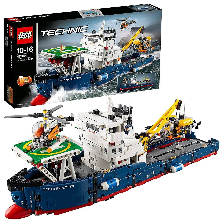LEGO TECHNIC 42064 - ESPLORATORE OCEANICO - SPEDITO DA ITALIA - NUOVO ORIGINALE