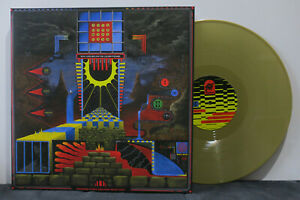 KING-GIZZARD-amp-LIZARD-WIZARD-039-Polygondwanaland-039-Ltd-Edition-GOLD-Vinyl-LP-NEW