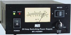 MFJ-4230MV-Compact-Variable-Power-Supply-13-8VDC