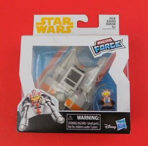 Star Wars Micro Force Snowspeeder /& Luke Skywalker