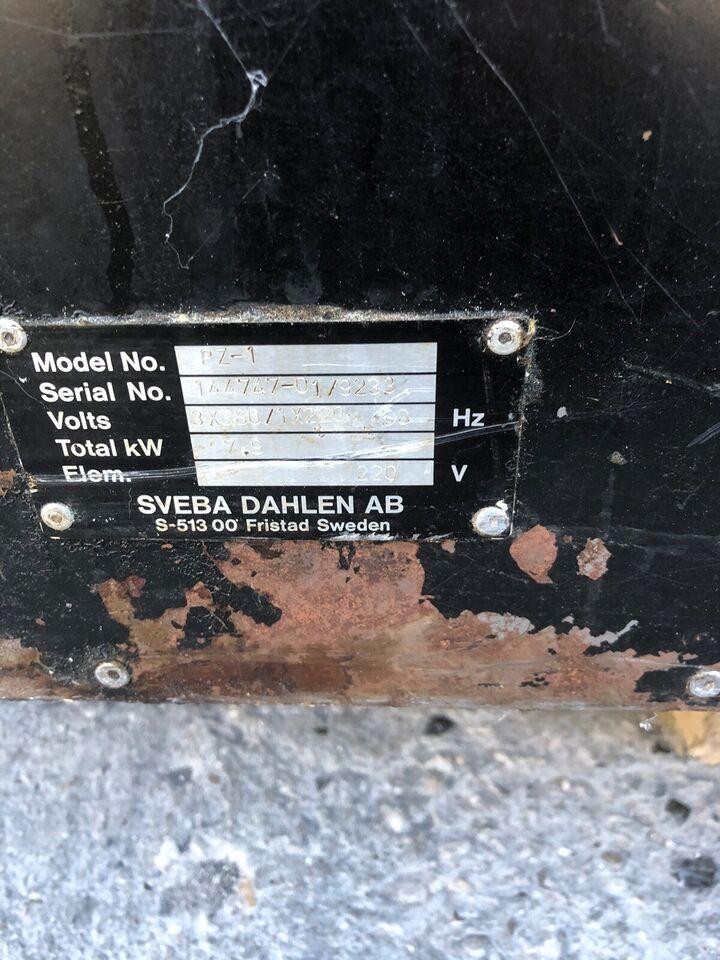 Andet, andet mærke Pizzaovn svens model pz1. , b: 110 d: 70 h:
