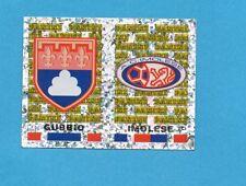 PANINI CALCIATORI 2001/2002- Figurina n.678- GUBBIO+IMOLESE - SCUDETTO-NEW