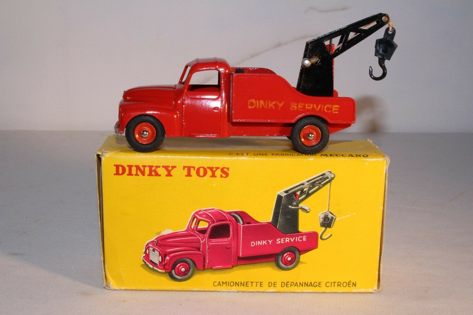 594ms Dinky 582 ,Citroen Wrecker, con Original Caja