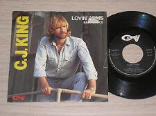 "C.J. KING - LOVIN' ARMS / BABY DANCE - 45 GIRI 7"" ITALY"
