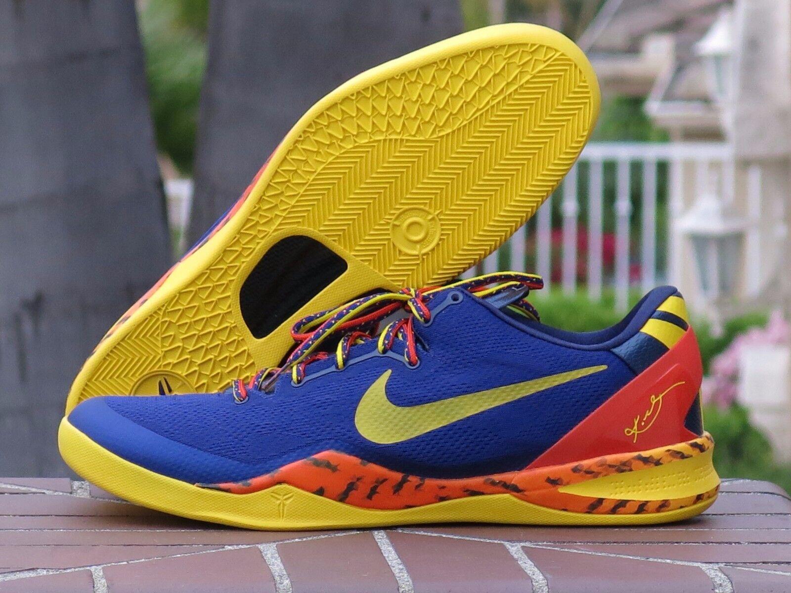 2013 Nike Zoom 555035-402 KOBE VIII 8 SYSTEM PP Barcelona 555035-402 Zoom SZ 18 fdd6ce