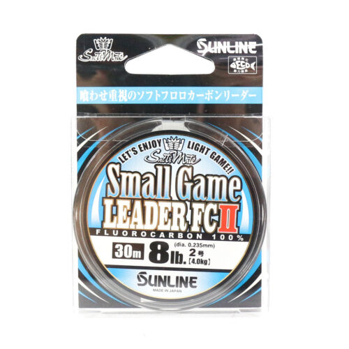 Sunline Fluorocarbon Small Game Leader FC II 30m 8lb 8010