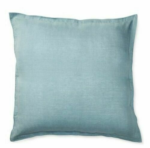Ralph Lauren Madalena Wetherly Blue Euro Pillow Sham