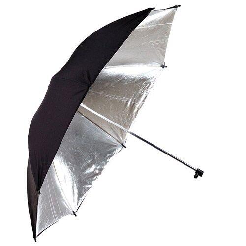 40/'/' Phottix® OMBRELLO RIFLETTENTE argento//nero 101cm