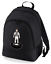 Football-TEAM-KIT-COLOURS-West-Bromwich-Supporter-unisex-backpack-rucksack-bag miniatuur 2