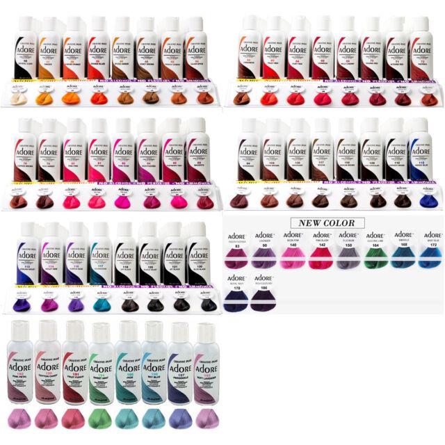 Creative Images Systems Adore Semi-permanent Haircolor 168 Emerald 4 Oz