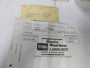 Genuine Lawn Boy Variable speed spring 607528