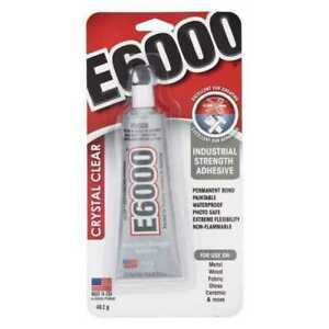 E6000 Crystal Clear Glue Tube - 40g