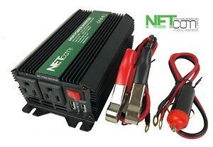 Power inverter 880 W peak Car Power Inverter 12V DC - 110V AC Converter,2USB out